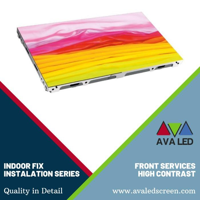 AVA LED TN-PRO-IF sērija - Iekštelpu AVA LED displejs, priekšējā servisa uzstādīšana