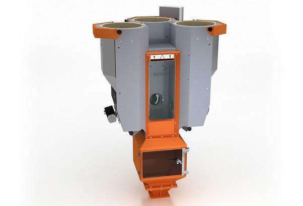 Unidade de dosagem e mistura volumétrica - SPECTROCOLOR V - Dosagem volumétrica, misturador de lote, para processos descontínuos e contínuos