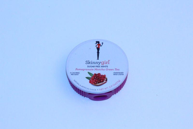 SKINNYGIRL Sugar Free Mints Pomegranate Matcha Green Tea -