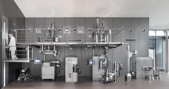 Kontinuierliche Produktionsanlage - Modulares Design schafft technologischen Vorsprung