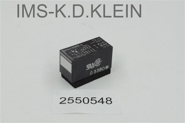 Relais H3FA-A 12 VDC - S-2550548