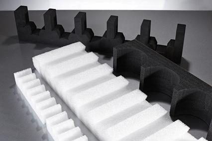 Ladungsträger / Zahnleisten aus Schaumstoff - nach Maß - null