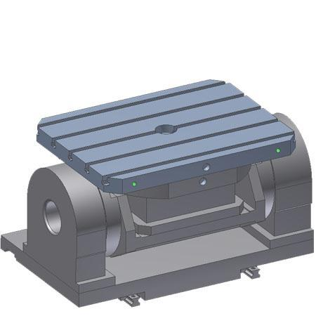NC rotary and swivel table - NC rotary table SKS-NC5/X