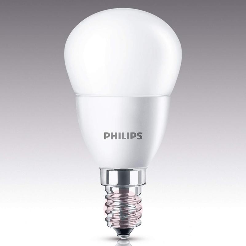 E14 4 W 827 LED golf ball bulb, matt - light-bulbs
