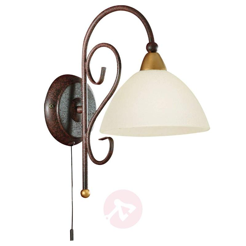 Delicate wall light Midec with pull switch - Wall Lights