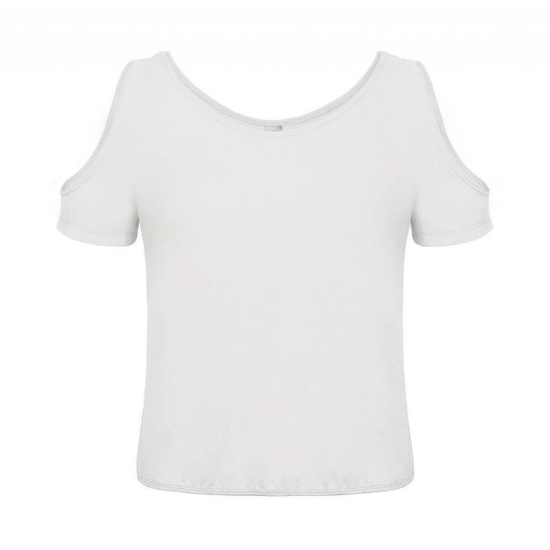Tee-shirt ouvertures extérieur - Manches courtes