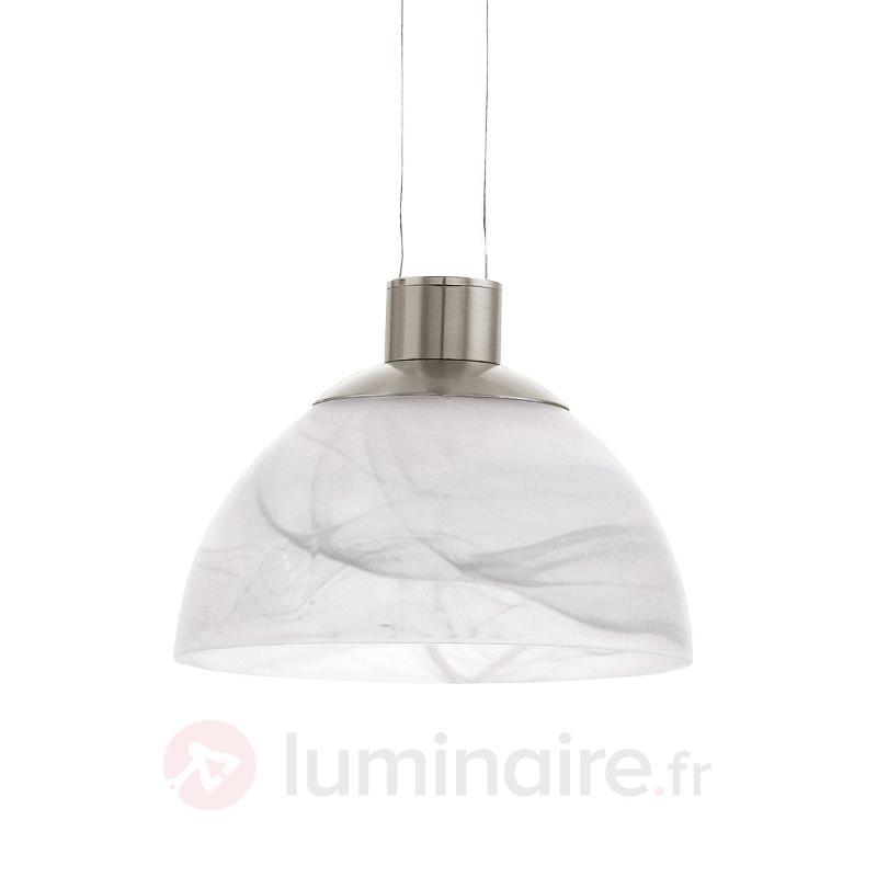 Suspension LED réglable en hauteur Montefio - Suspensions en verre