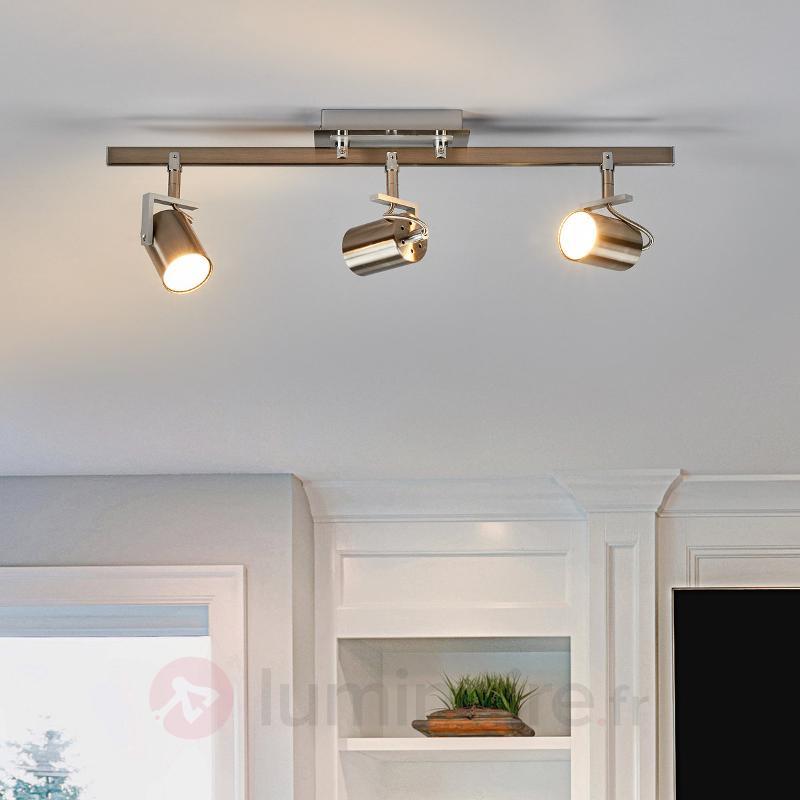 Spot GU10 à trois lampes avec LED - Spots et projecteurs LED