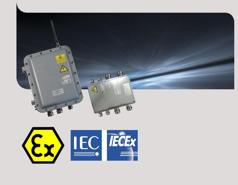 Explosion proof Transceiver for ATEX IECEx radio control - Alto