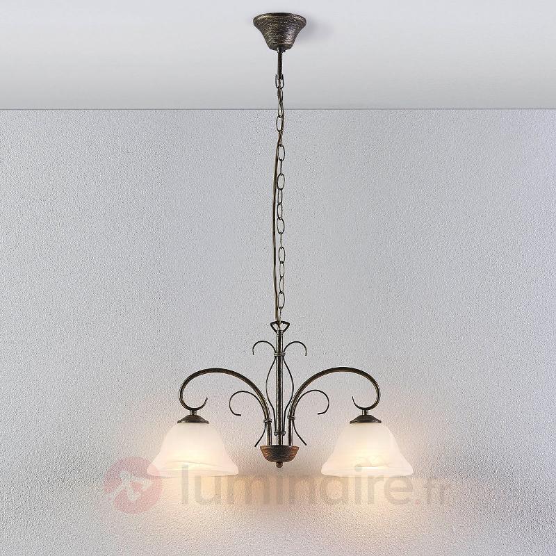 Castila - suspension romantique, 2 lampes - Cuisine et salle à manger