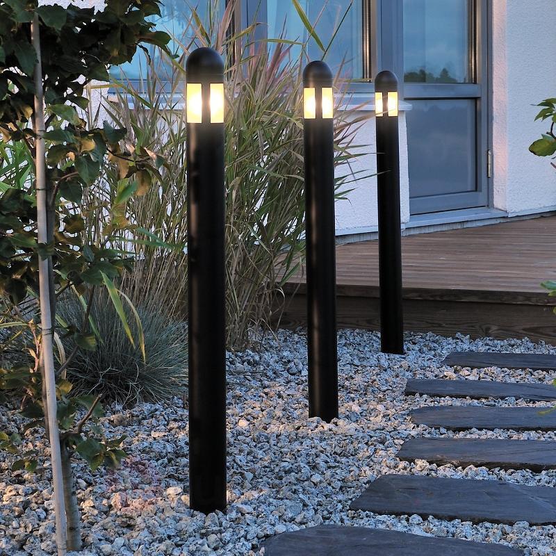 Le set pratique de 3 bornes lumineuses Amalfi - Toutes les bornes lumineuses