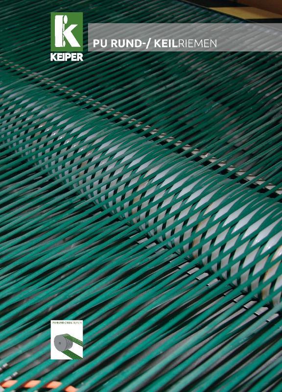 KEIPER round belt catalog - null