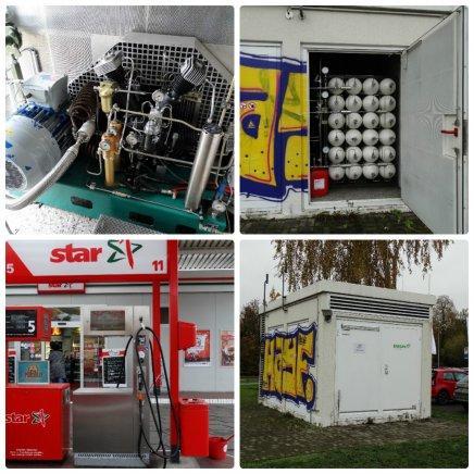 Газовые компрессорные станции АГНКС