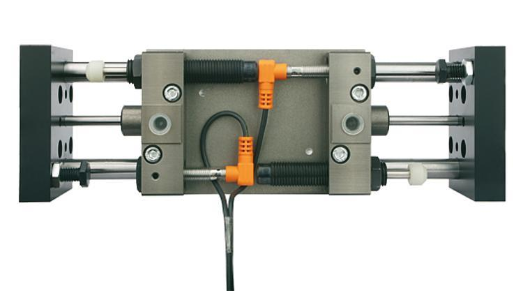 Linear modules pneumatic with two round guides - Linear modules pneumatic with two round guides