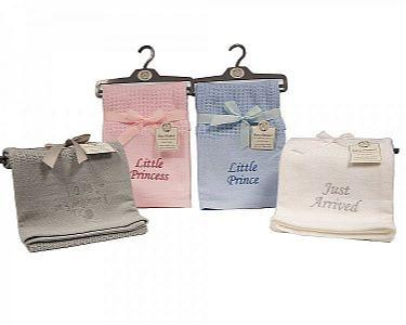 Baby Pram and Cot Blankets - Many Designs and Colours available