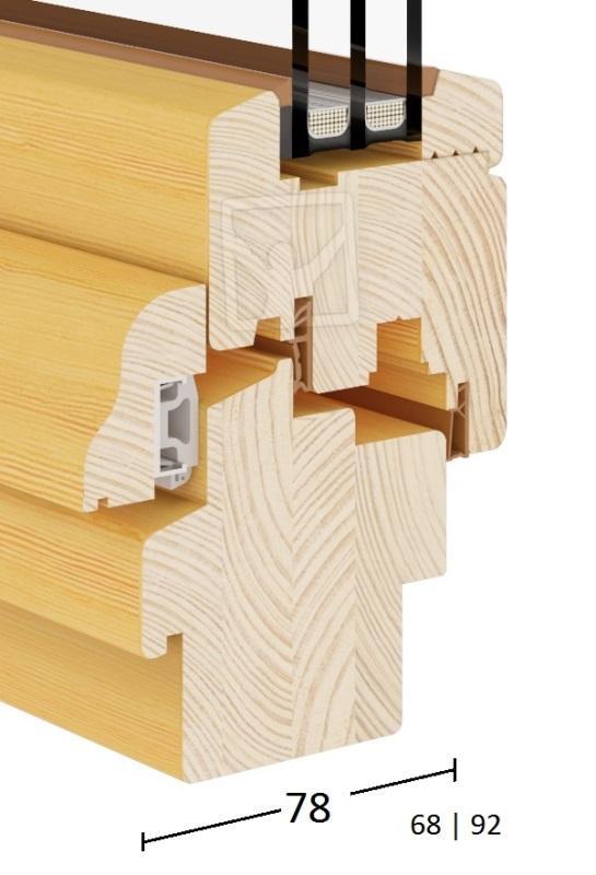 Classic (Wooden Windows 68|78|92) - Classic Wood Turn & Tilt Window