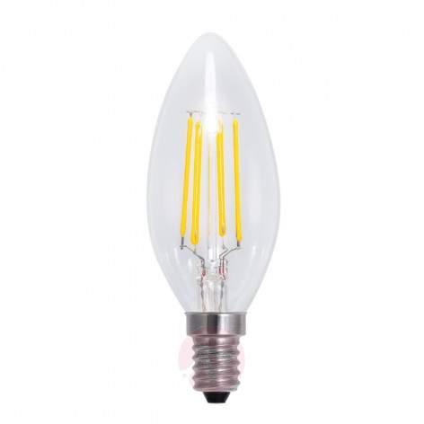 E14 2,5 W 827 LED flame tip candle bulb filament - light-bulbs
