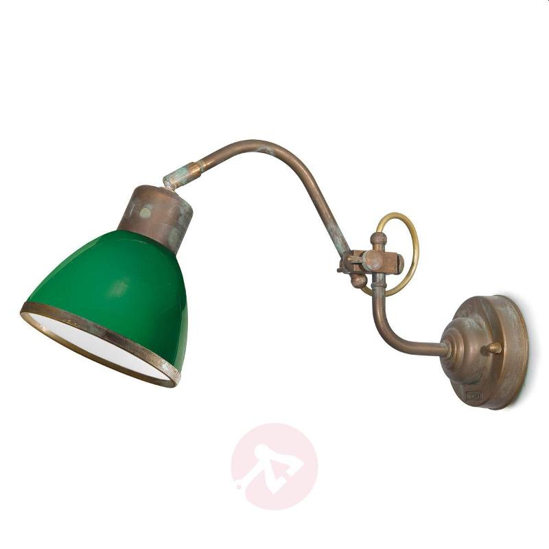 Flexible wall light Fabia green - Wall Lights