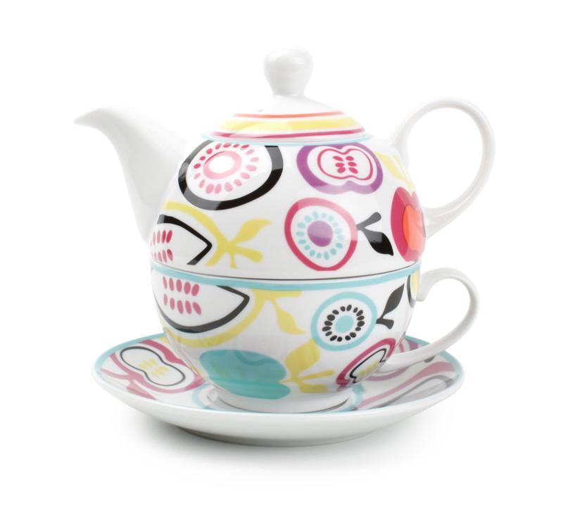 tea for one set fruit