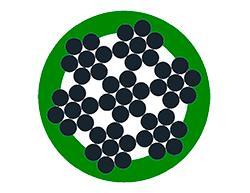 6x7+WSC plastificato - agricoltura - cavi