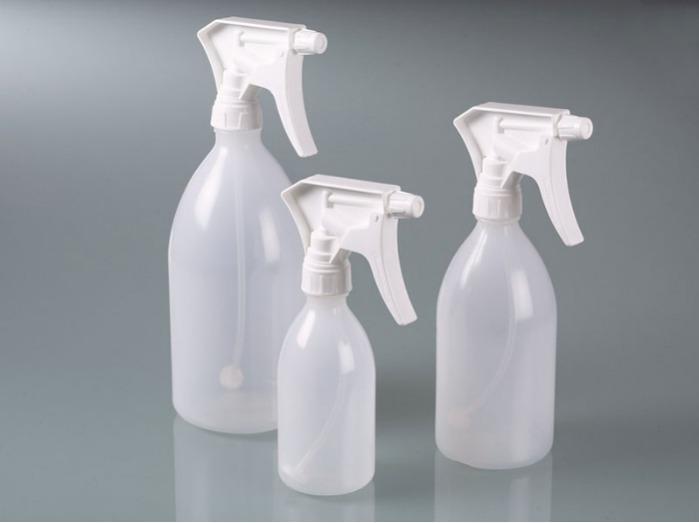 Botella pulverizadora - Botella pulverizadora sin presión, equipos industriales y de laboratorio