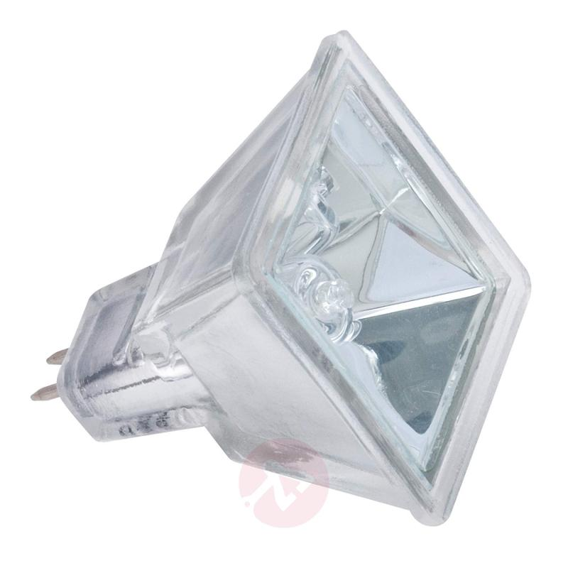 GU5.3 MR16 35W QUADRO Reflector silver - light-bulbs