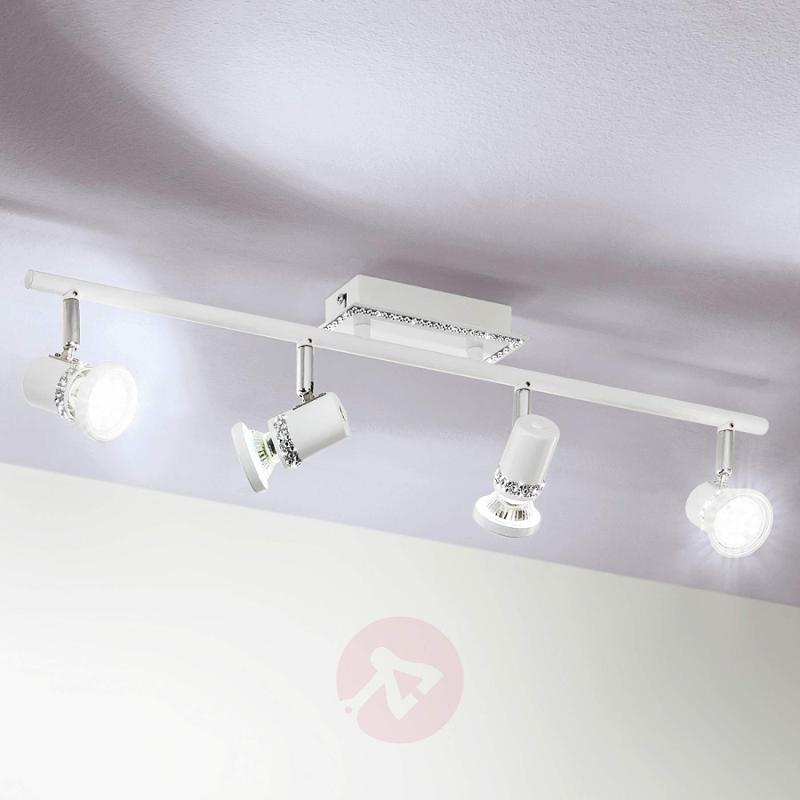 Elegant LED ceiling lamp Bonares - 4-bulb - indoor-lighting
