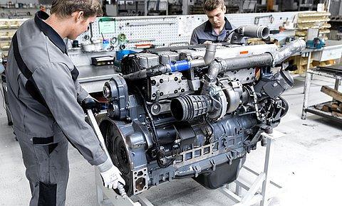 Engine repair - Diesel engine technology