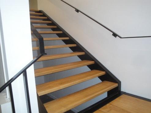Escalier bois et métal sur mesure