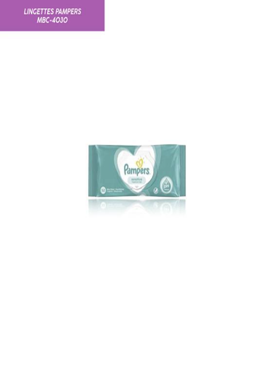 Lingettes Pampers Sensitive - Produits Médicaux