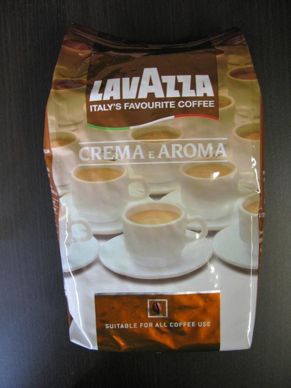 LAVAZZA Coffee BEANS Crema e Aroma 1000 gr - null