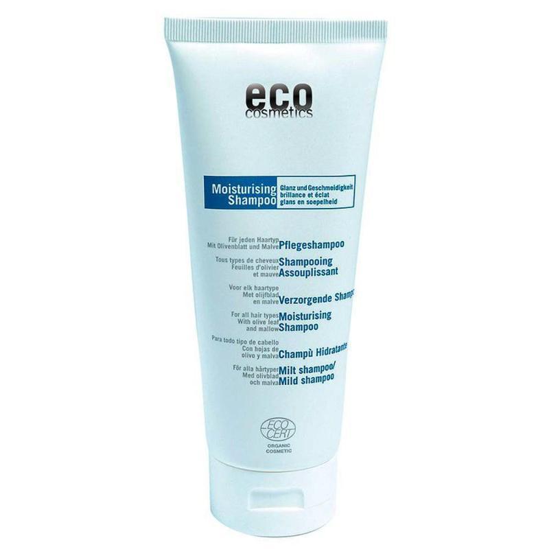 ECO Pflege Shampoo 200ml mit Olivenblatt und Malve - null