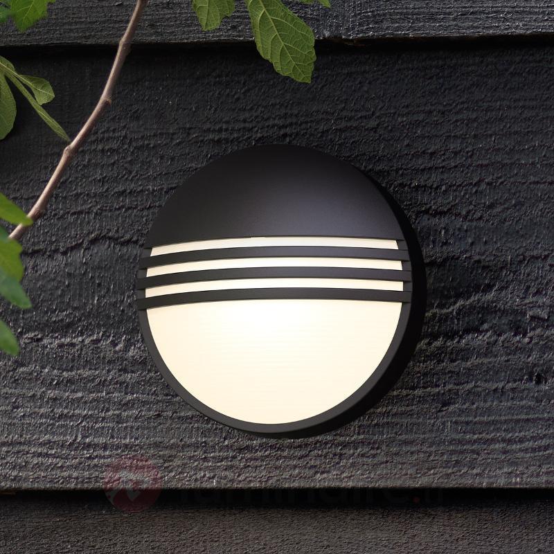 Applique d'extérieur LED noire Yarrow - Appliques d'extérieur LED