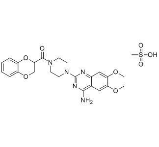 Mesilato de doxazosina - Mesilato de doxazosina; Ingrediente farmacéutico activo; EP; CAS 77883-43-3