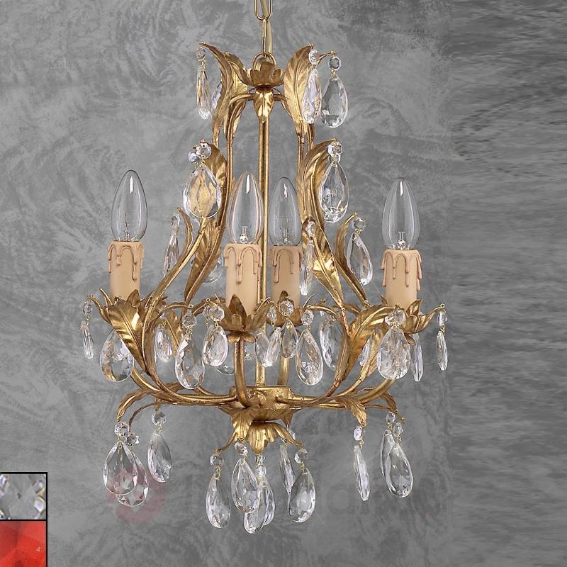 Lustre raffiné PISA doré - Lustres style florentin
