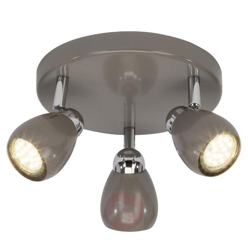 Ceiling light Milano with three LED spotlights - Ceiling Lights