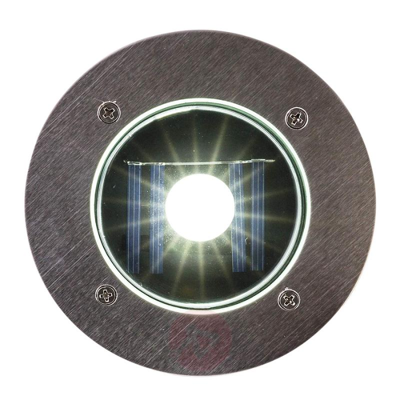 Solar LED recessed floor light Verona - outdoor-led-lights