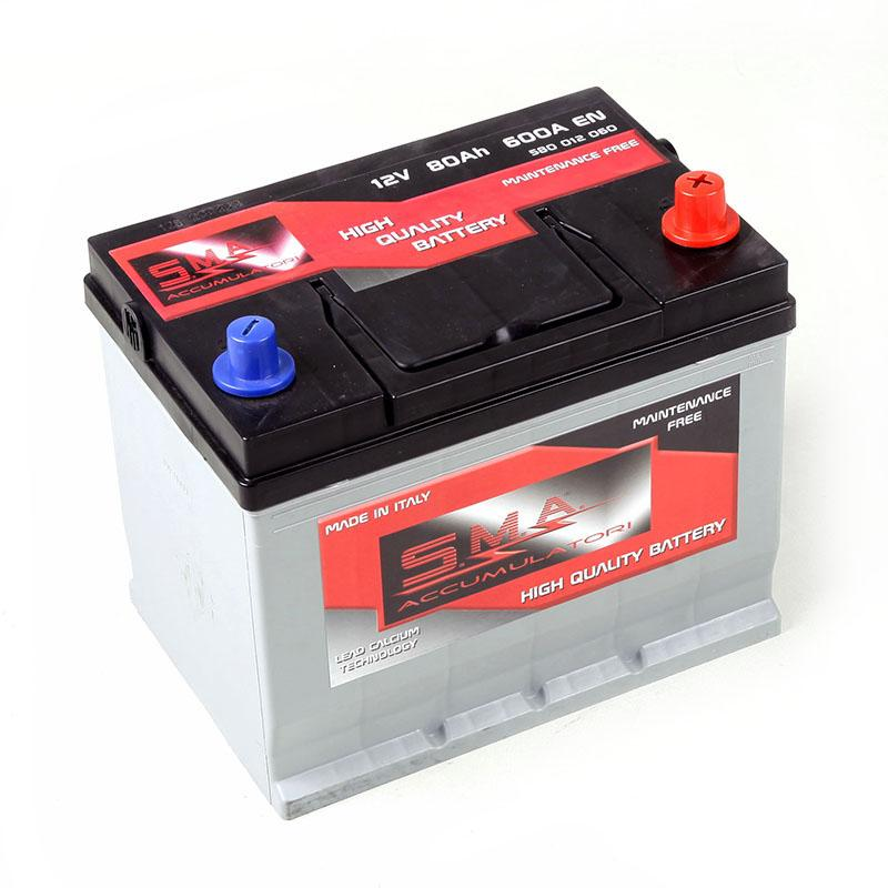 Asian Car Battery 80ah Made in Italy - Italian starter battery asian car