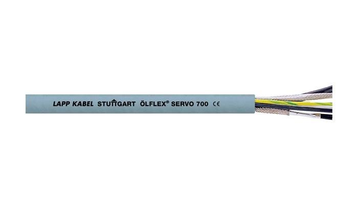 Servo cable - Servo cable with shielded control pairs and PVC outer sheath for static use