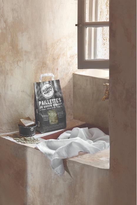 Paillettes de savon d'Alep - savon d'alep