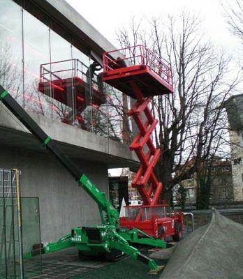 Lifting platforms - Scissor/ Telescopic/ Jointed telescopic/ HGV platforms- for inside and outside!