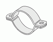 Pipe Clamps - Pipe clips as per DIN 3567, Type A