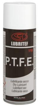 LUBRITEF - Lubrificante secco spray con P.T.F.E.