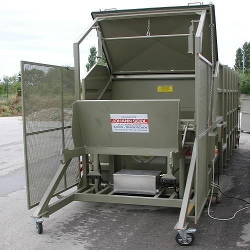 MONOBLOC Compacteur Monobloc 20m3 - Type de déchets