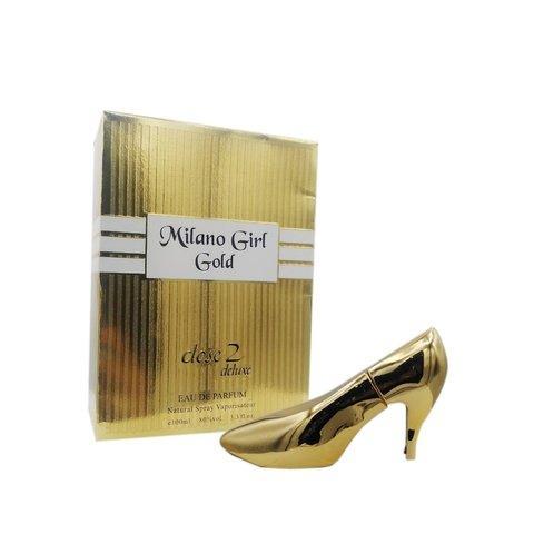 Milan Girl Gold Eau De Parfum 100 Ml For Women - Close 2