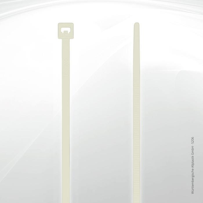 Allplastik-Kabelbinder® cable ties, standard - 5206 (natural)