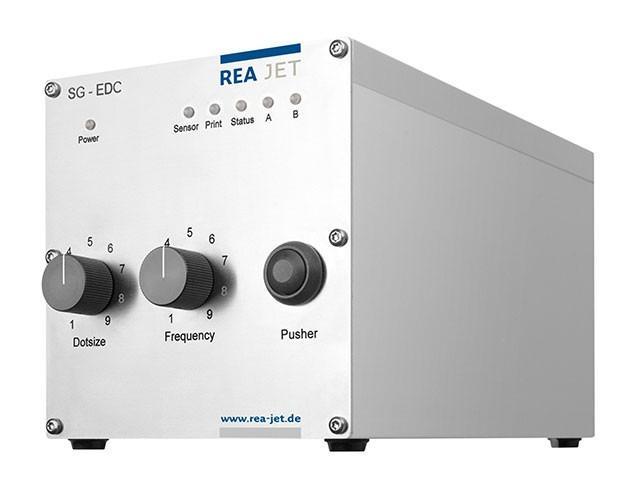 One Dot System,Spray Mark Technology - REA JET EDS - System z pojedynczymi dyszami do bardzo precyzyjnego znakowania punktów i linii