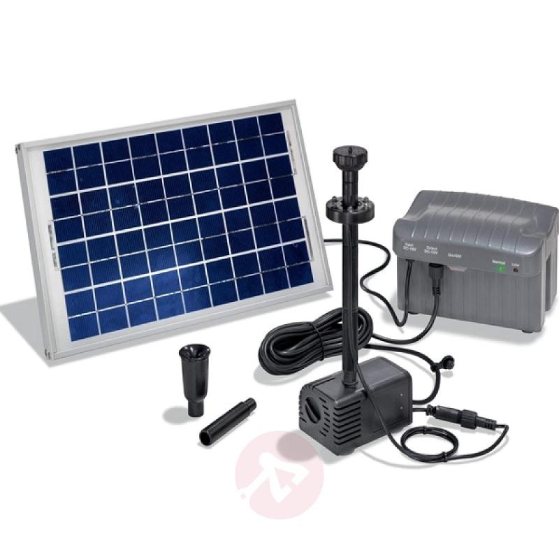 Solar pump system Siena with LEDs - outdoor-led-lights