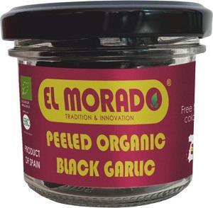 AJO NEGRO ORGÁNICO PELADO - Ajo negro orgánico pelado El Morado
