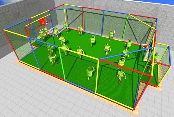 Multi Sport Centers (MSC) - Play Zones